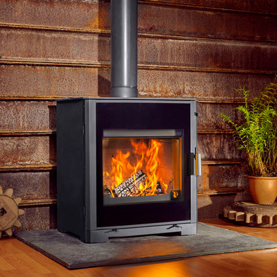 Boiler Stoves For Wood Powered Central, How An Outdoor Wood Burning Stove Works