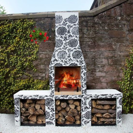 Schiedel Garden Fireplace Barbecue