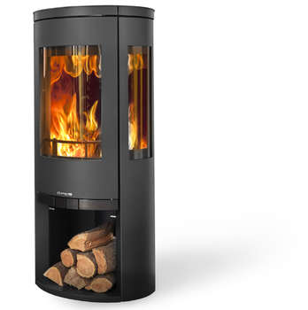 Opus trio wood stove