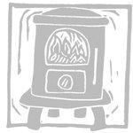 Wood stove UK Opus Aria