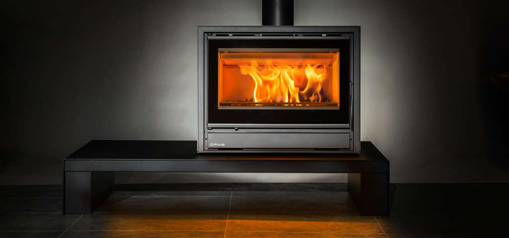 Opus Tempo 70 stove on Bench