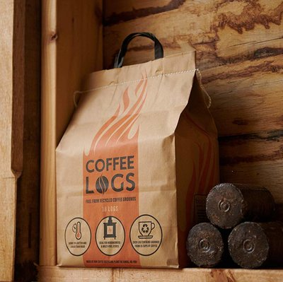 Coffee Log Briquettes