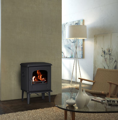 Dru 55 CB woodburning stove