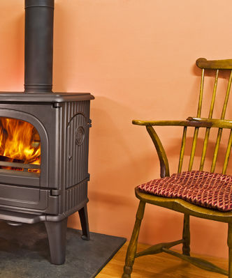 Dru 64 CB woodburning stove