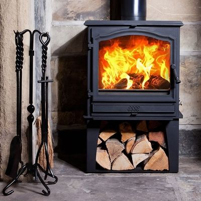 Esse 700 SE Vista log box raises the stove 300mm