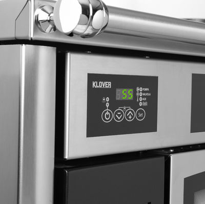 Klover Altea 110 stove digital control detail