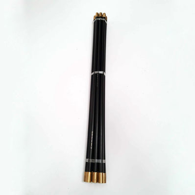 Chimney sweeping rod set