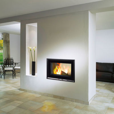 Fondis V80LDF Double Sided Inset Stove