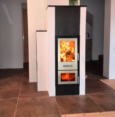 Walltherm Zebru Insulated Steel stove
