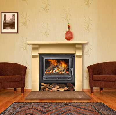 Woodfire RS 19 insert boiler stove