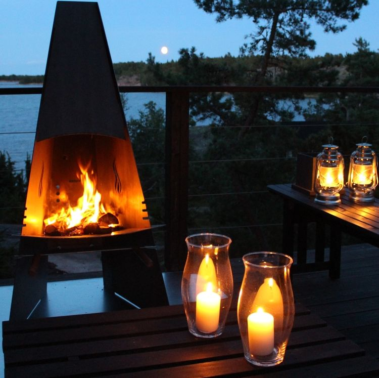 Click to read more about the Aduro Outdoor Fire place