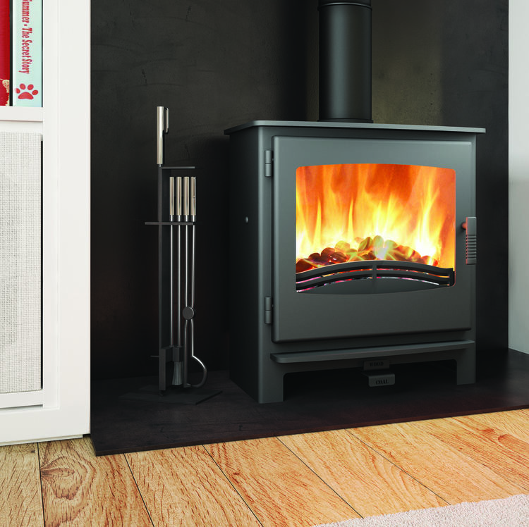 Click to read more about the Broseley Desire 7 multifuel stove