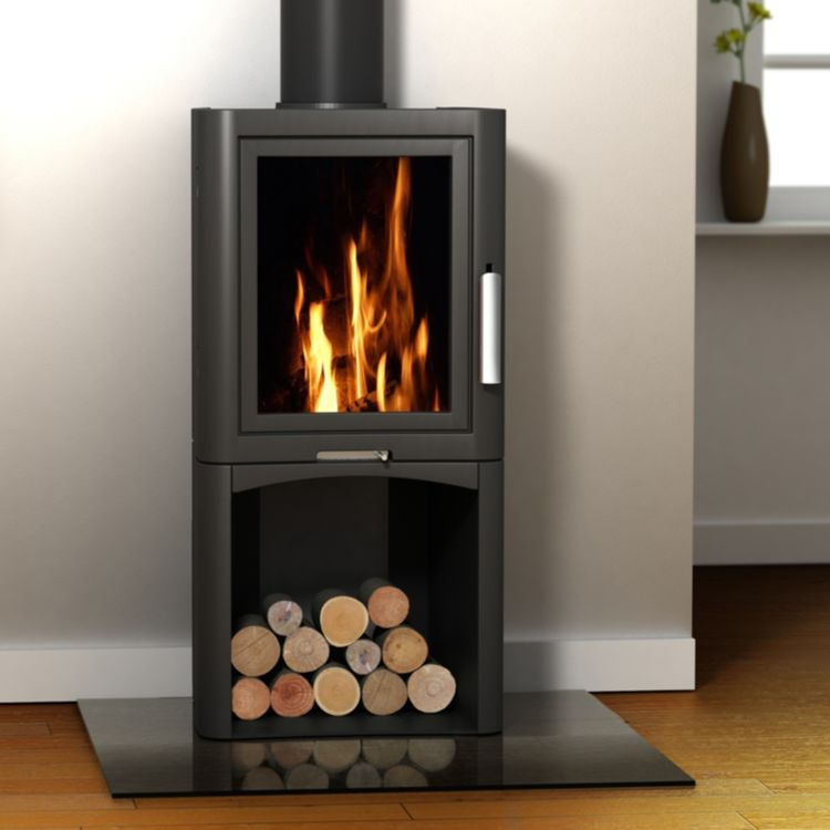 Broseley eVolution 5 stove with log store
