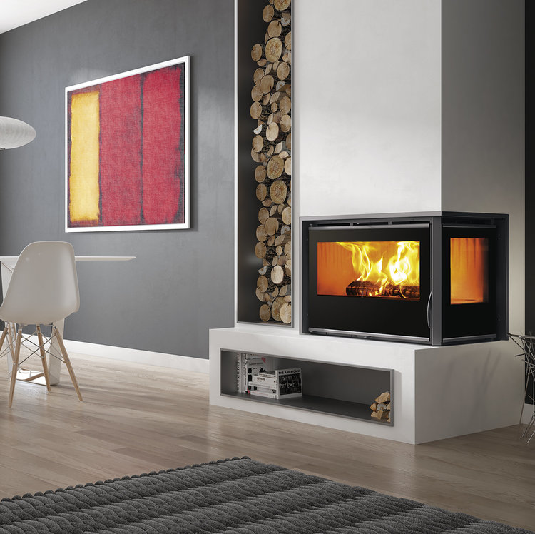 Carbel A-85 Plus inset stove