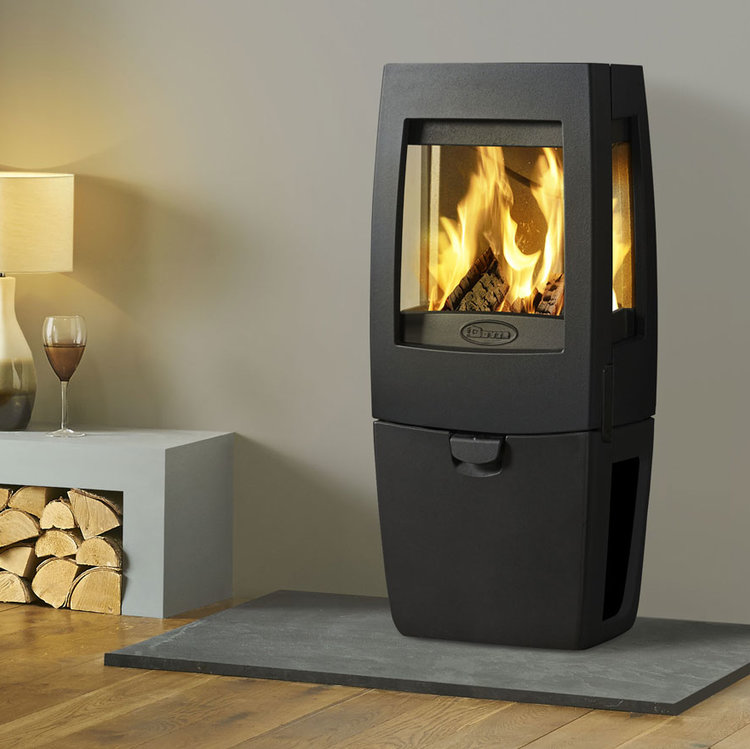 Click to read more about the Dovre Sense stoves