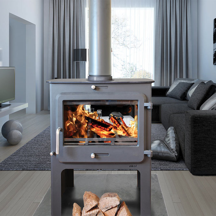 Ekol Clarity double sided high stove