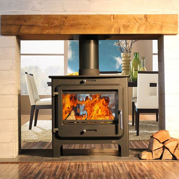 Ekol Clarity double sided low stove