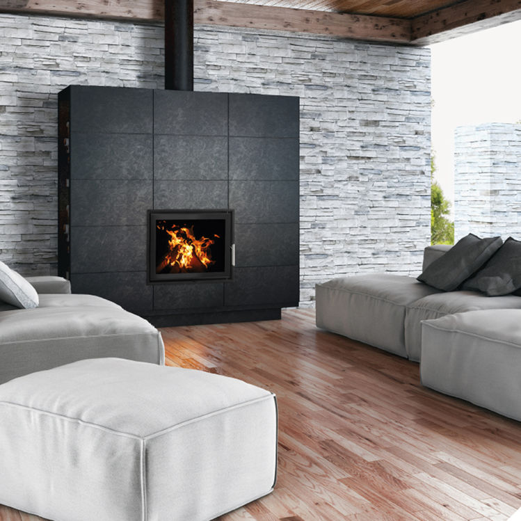 Woodfire EX Panorama boiler stoves