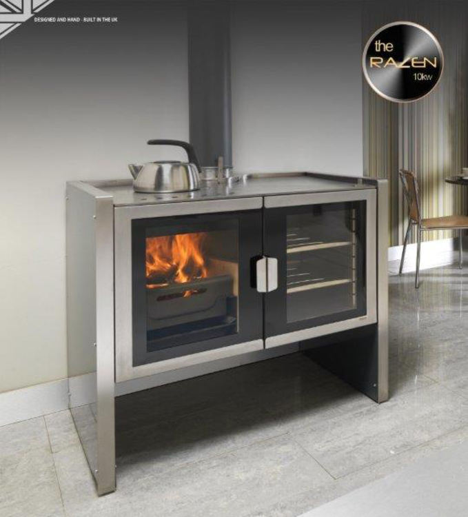Click to read more about the Firebelly Razen Range Cooker Stove