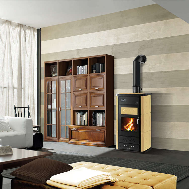 Click to read more about the Klover Belvedere woodburning stoves
