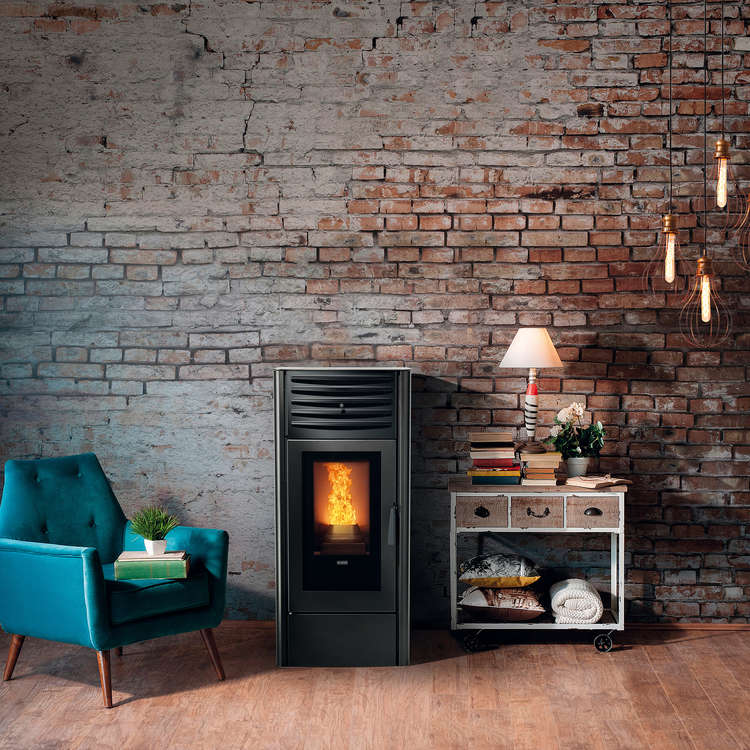 Click to read more about the Klover Dea Wood Pellet stoves