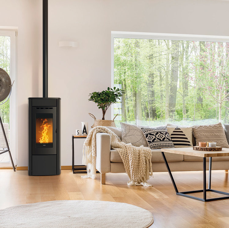 Click to read more about the Klover Soft Wood Pellet Stoves