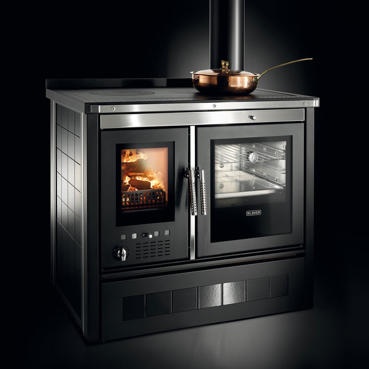 Click to read more about the Klover Vesta woodburning stove