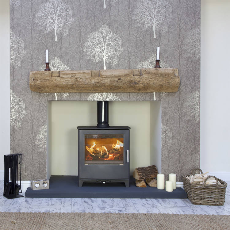 Click to read more about the Mendip Woodland multifuel stove