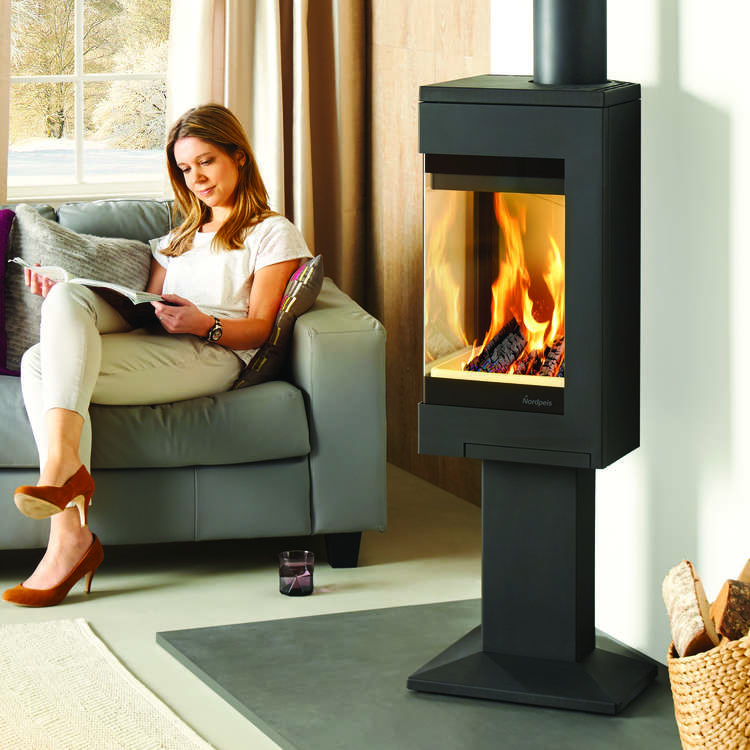 Click to read more about the Nordpeis Quadro 1 Stove