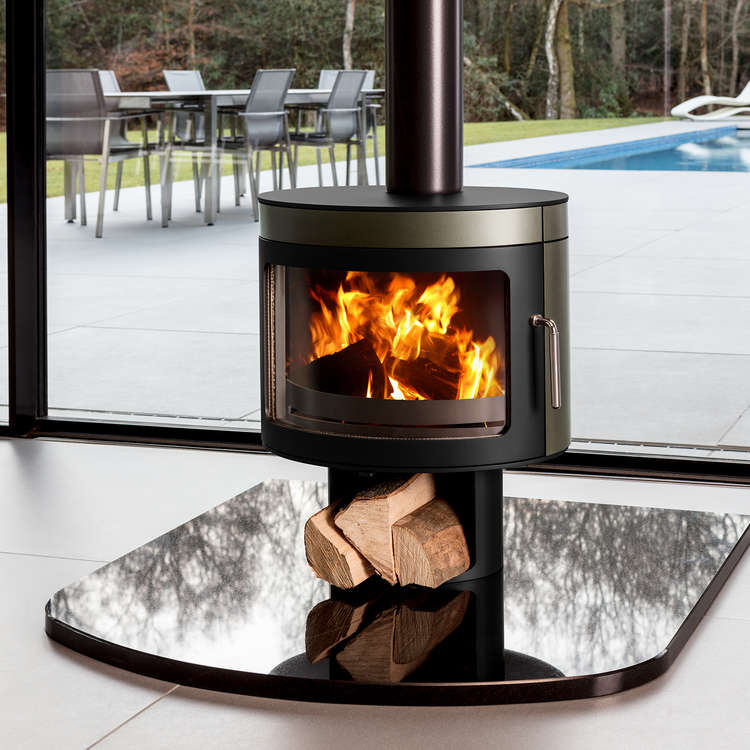Panoramic FX2 wood stove