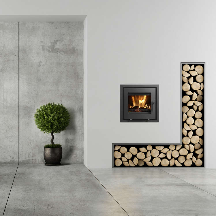 Westfire 23 Insert Curve Stove