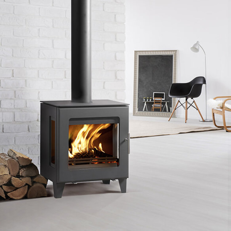 Westfire 23 Woodburning Side Glass Stove