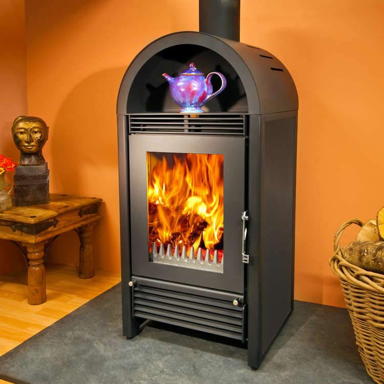 Woodfire CXC8 contemporary boiler stove
